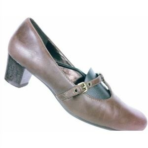 Ecco Womens Brown Mary Jane Pumps UK 40 US 9.5